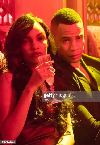 Pictured LR Sierra McClain and Trai Byers in the Sound Fury spring premiere episode of EMPIRE airing Wednesday March 22 on FOX