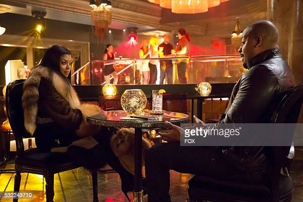 Pictured LR Taraji P Henson and guest star Morocco Omari in the Rise by Sin episode of EMPIRE airing Wednesday May 11 on FOX