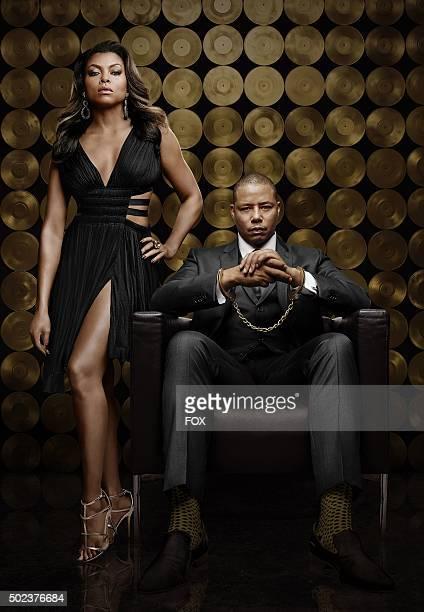Taraji P. Henson as Cookie Lyon and Terrence Howard as Lucious Lyon on EMPIRE. Season Two premieres Wednesday, Sept. 23 on FOX.