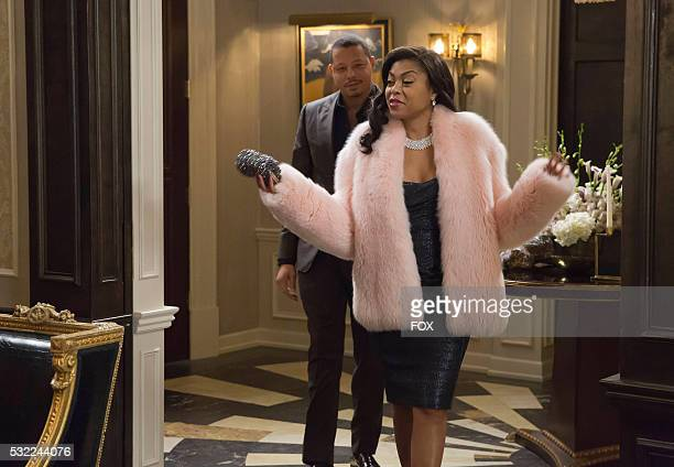 Pictured LR Terrence Howard and Taraji P Henson in the ' The Tameness Of A Wolf' episode of EMPIRE airing Wednesday April 13 on FOX