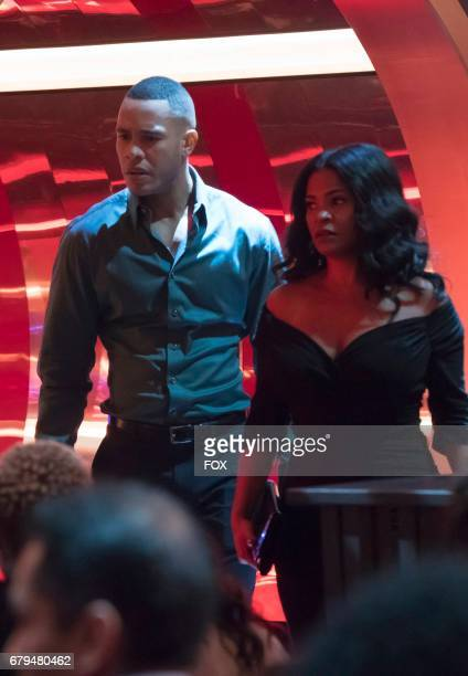 Pictured LR Trai Byers and guest star Nia Long in the 'Love is a Smoke' episode of EMPIRE airing Wednesday April 19 on FOX