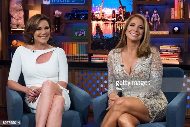 Luann D'Agostino and Jill Zarin