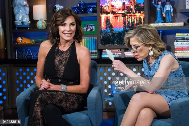 Luann De Lesseps and Jackie Hoffman