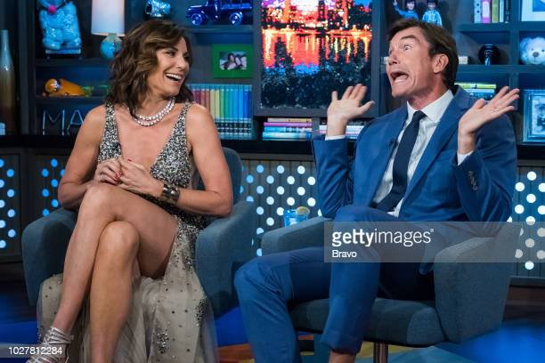 Luann de Lesseps and Jerry O'Connell