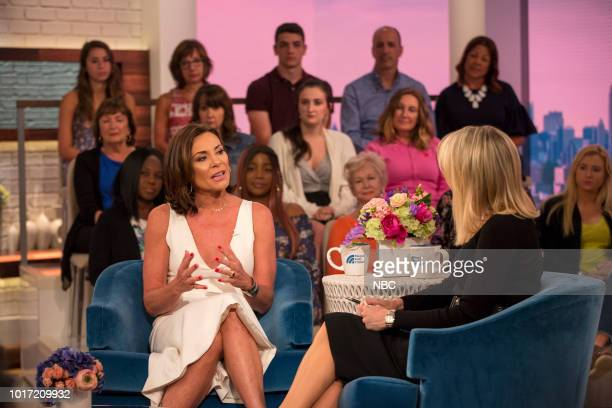 Luann de Lesseps and Megyn Kelly on Tuesday August 14 2018