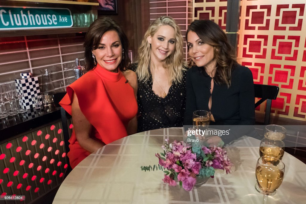 Luann de Lesseps, Jennifer Lawrence and Bethenny Frankel --