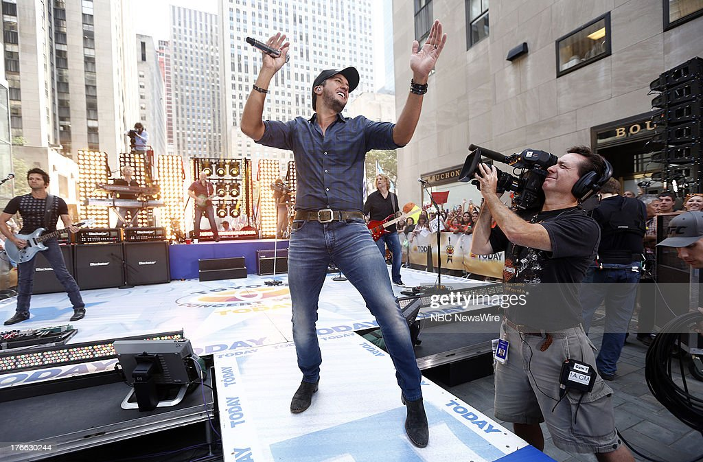 Luke Bryan appears on NBC News' 'Today' show --