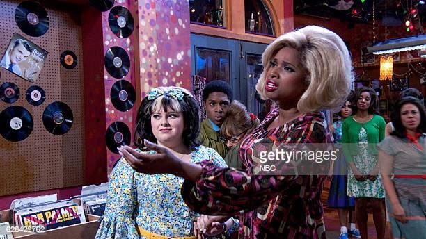 Maddie Baillio as Tracy Turnblad Ephraim Sykes as Seaweed J Stubbs Ariana Grande as Penny Pingleton Jennifer Hudson as Motormouth Maybelle