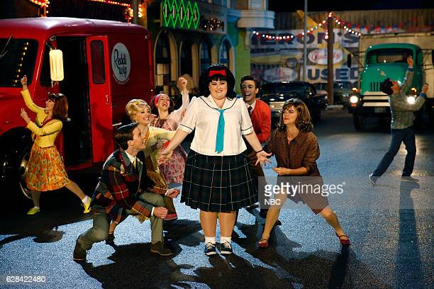 Pictured: Maddie Baillio as Tracy Turnblad --