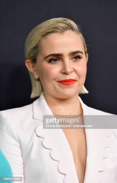 Mae Whitman arrives to the 2018 E People's Choice Awards held at the Barker Hangar on November 11 2018 NUP_185068