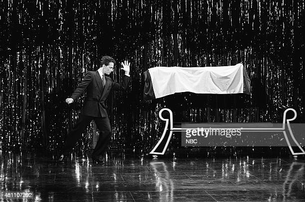 Magician Joseph Gabriel performs on March 6 1991