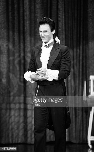 Magician Lance Burton performs on August 16 1991