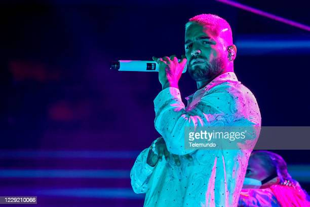 Pictured: Maluma performs at the BB&T Center in Sunrise, FL on October 21, 2020 --