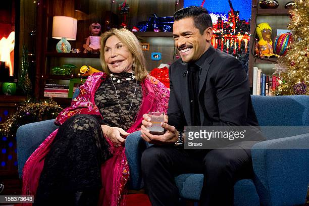 Mama Elsa and Mark Consuelos Photo by Charles Sykes/Bravo/NBCU Photo Bank via Getty Images