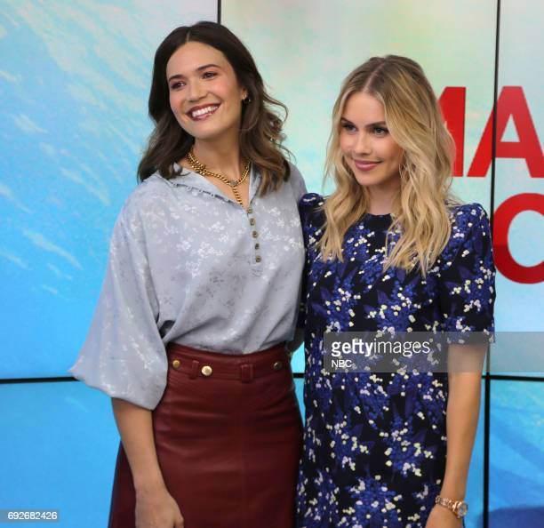 Mandy Moore and Claire Holt on Monday June 5 2017