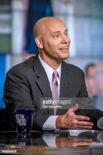 Marc Short White House Director of Legislative Affairs appears on Meet the Press in Washington DC Sunday Jan 21 2018