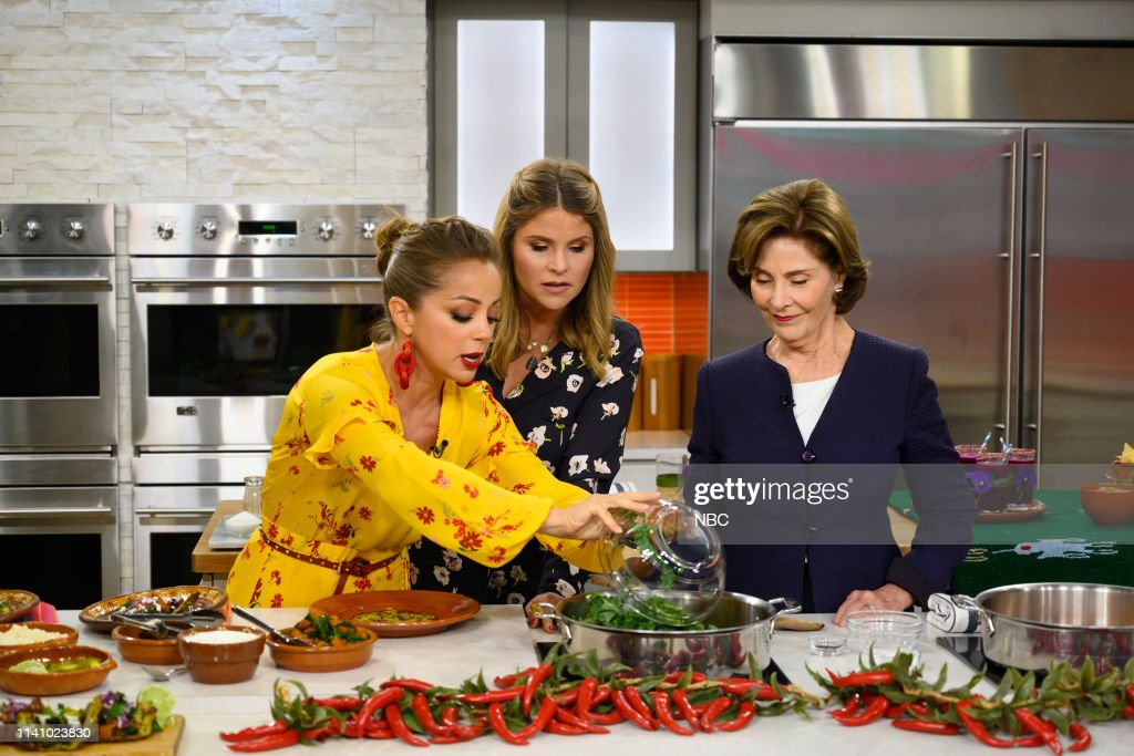 "NY: NBC's ""TODAY"" - First Lady Laura Bush, Rebel Wilson, Cher Show, Joy Bauer, Colton Underwood, Cassie Randolph"