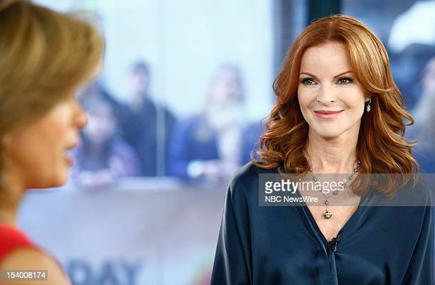 Marcia Cross appears on NBC News' Today show