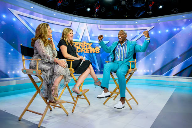 "NY: NBC's ""TODAY"" - Terry Crews, Tina Seelig, Affordable Fashion, Kingston Pryor, Justina Machado, Elisabeth Rohm, James Kent, Stephanie Ruhle"