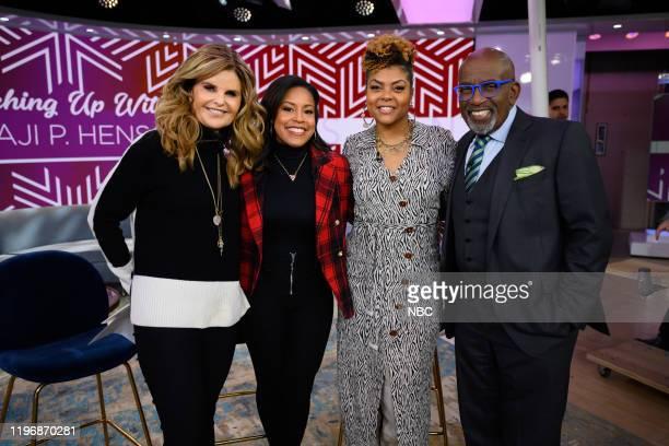 Maria Shriver Sheinelle Jones Taraji P Henson and Al Roker on Friday January 24 2020