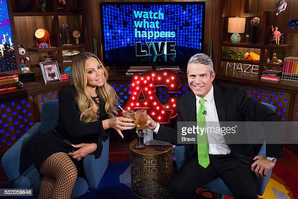 Mariah Carey Andy Cohen