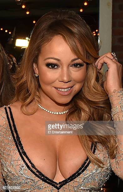 Mariah Carey at the 'Mariah's World' Premiere at Catch in New York NY on December 4 2016