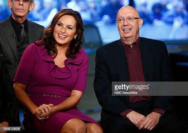 Mariska Hargitay and Dan Florek appear on NBC News' Today show