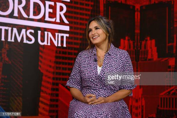 Mariska Hargitay on Thursday September 26 2019
