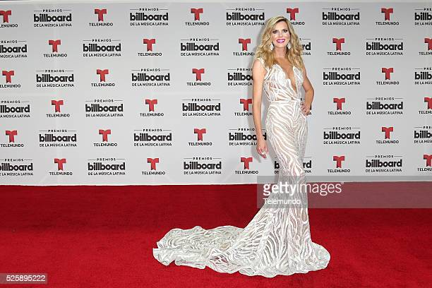 Maritza Rodriguez arrive at the 2016 Billboard Latin Music Awards at the BankUnited Center in Miami Florida on April 28 2016