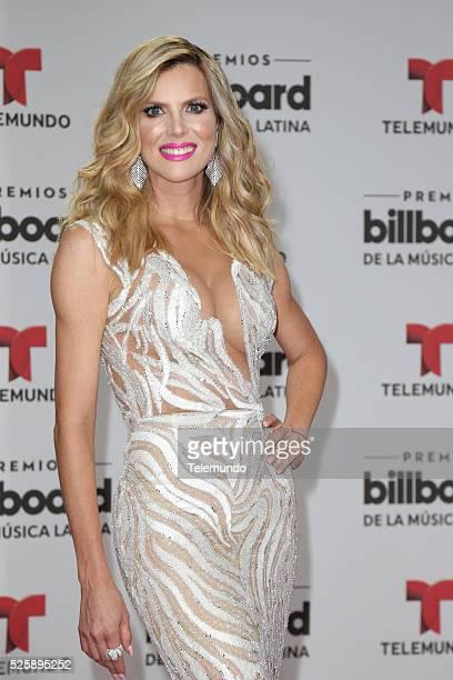 Maritza Rodriguez arrive at the 2016 Billboard Latin Music Awards at the BankUnited Center in Miami Florida on April 28 2016