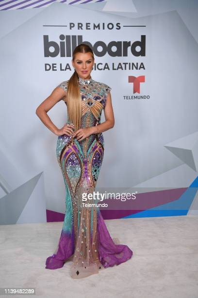 Marjorie de Sousa backstage at the Mandalay Bay Resort and Casino in Las Vegas NV on April 25 2019