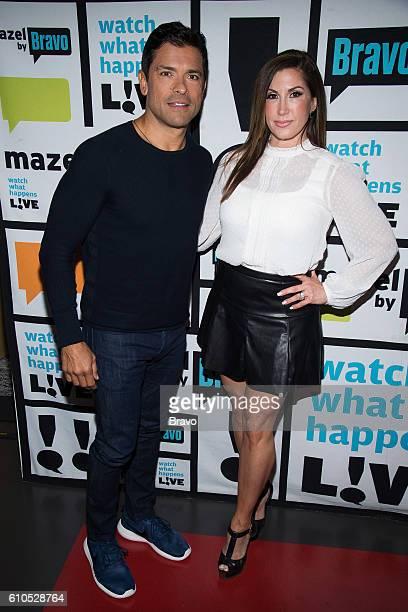 Mark Consuelos and Jacqueline Laurita