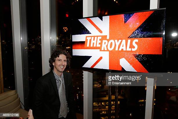Mark Schwahn Creator Writer and Producer at The Royals premier party at The Top of The Standard on March 9 2015