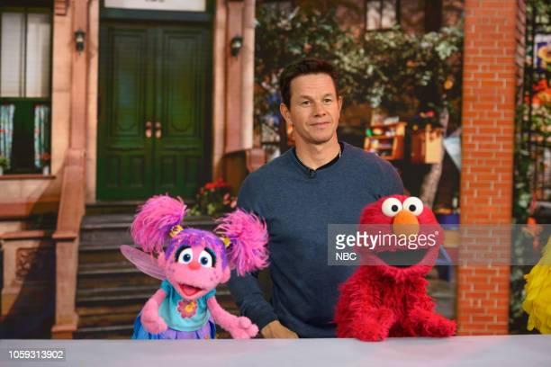 Mark Wahlberg on Thursday, November 8, 2018 --
