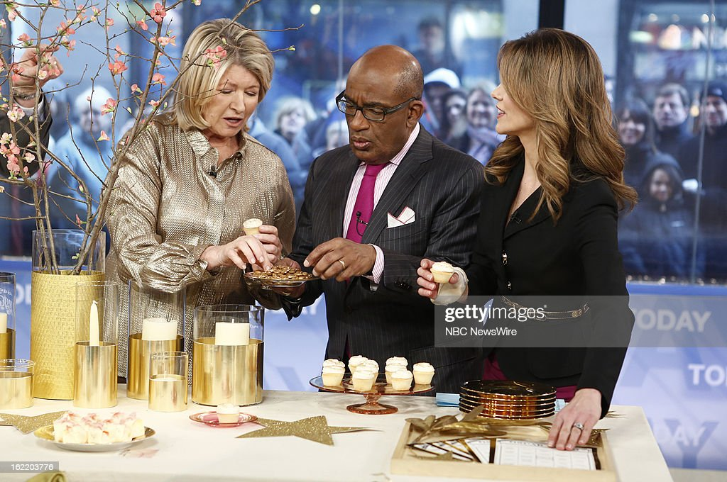 Martha Stewart, Al Roker and Natalie Morales appear on NBC News' 'Today' show --