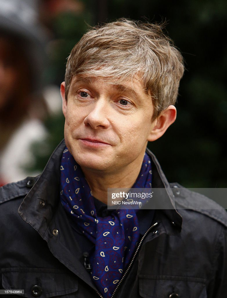 Martin Freeman appears on NBC News' 'Today' show --
