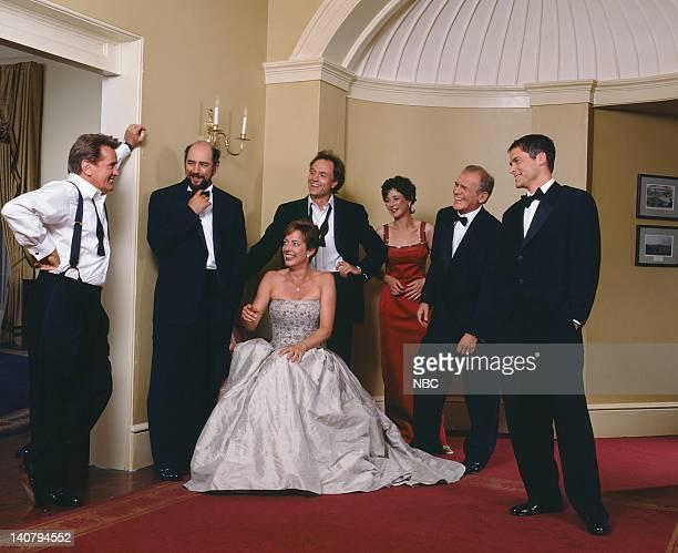 Martin Sheen as President Josiah Jed Bartlet Richard Schiff as Toby Ziegler Allison Janney as Claudia Jean 'CJ' Cregg Bradley Whitford as Josh Lyman...