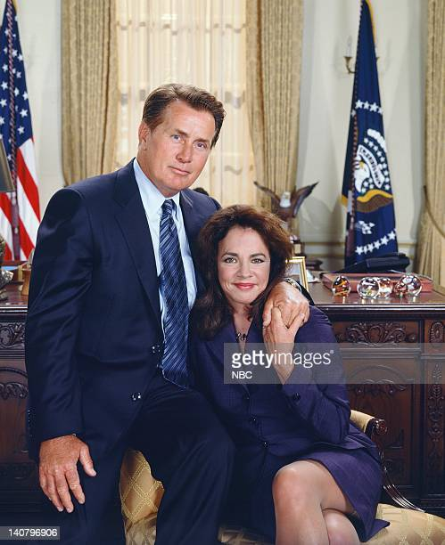 Martin Sheen as President Josiah 'Jed' Bartlet Stockard Channing as Abbey Bartlet Photo by James Sorensen/NBCU Photo Bank
