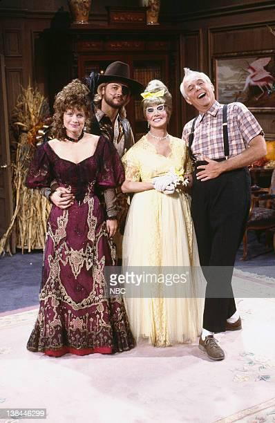 Mary Beth Evans as Kayla Brady Johnson Stephen Nichols as Steve Johnson Peggy McCay as Caroline Brady Frank Parker as Shawn Brady
