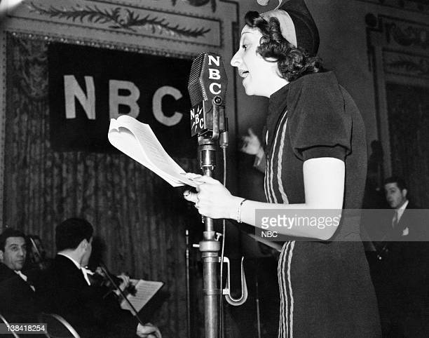 Mary Livingstone in 1937 during the famous feuding epsiodes with Jack Benny Photo by