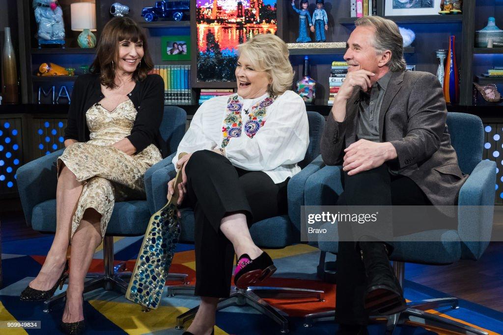 Mary Steenburgen, Candice Bergen and Don Johnson --