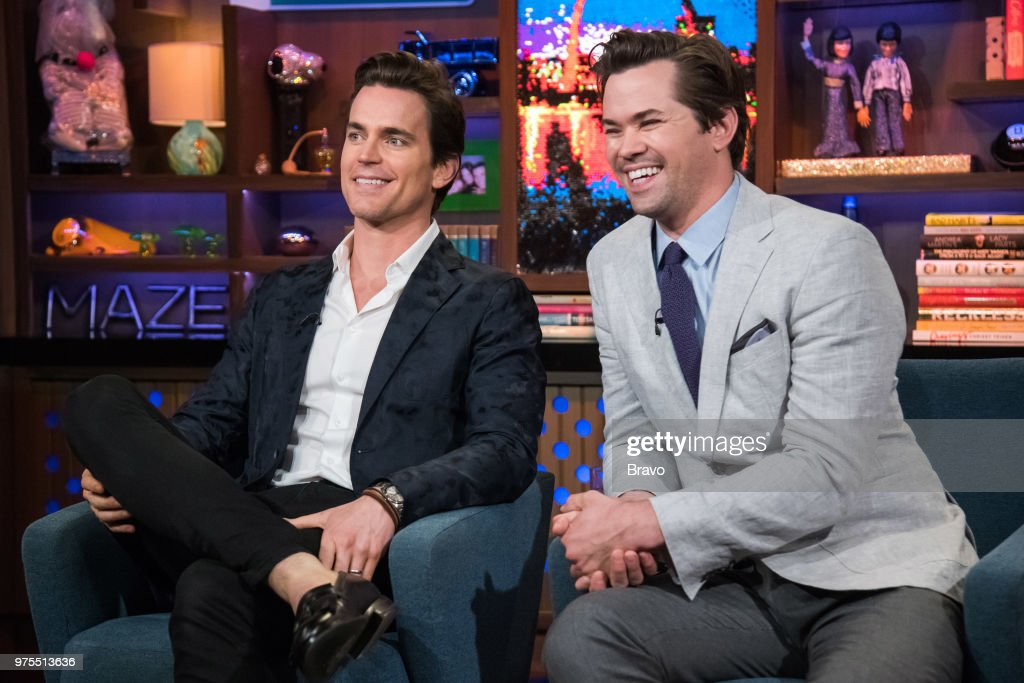 Matt Bomer and Andrew Rannells --