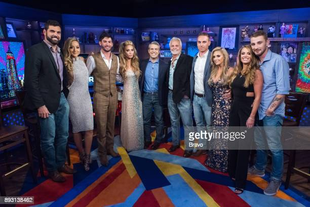 Pictured : Matt Burns, Brianna Adekeye, Nico Scholly, Kate Chastain, Andy Cohen, Captain Lee Rosbach, EJ Jansen, Jennifer Howell, Baker Manning and...