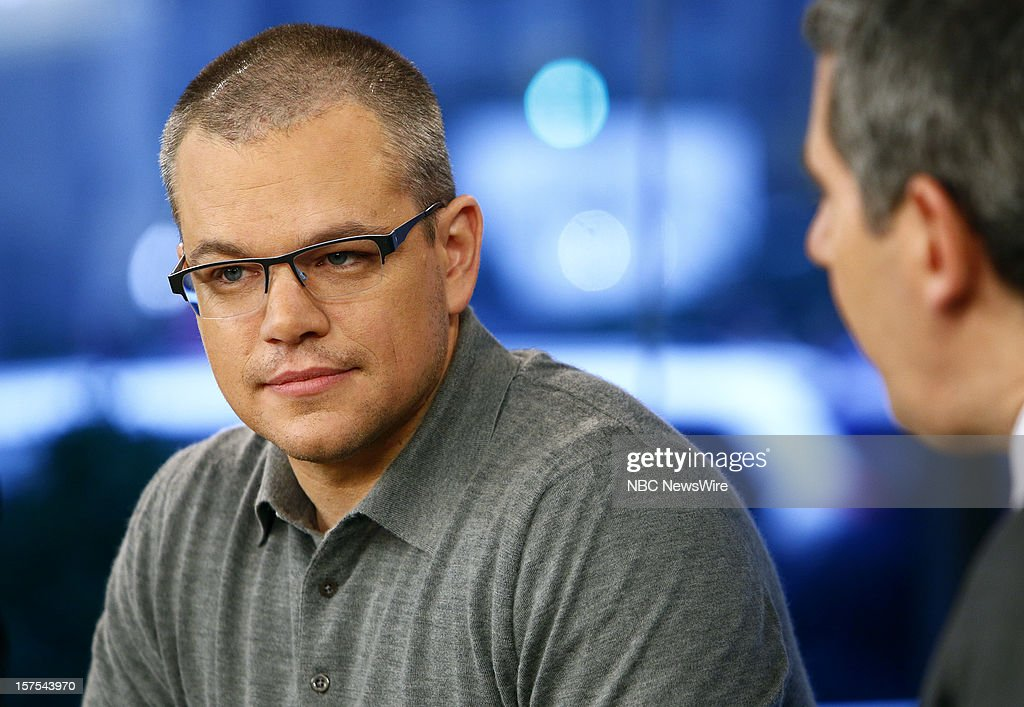 Matt Damon appears on NBC News' 'Today' show --