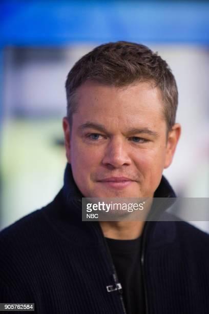 Matt Damon on Tuesday January 16 2018