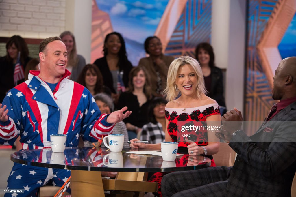 "NBC's ""Megyn Kelly TODAY"" with guests Matt Iseman, Akbar Gbajabiamila, Kathie Lee Gifford, Kevin and Rachelle Daly"