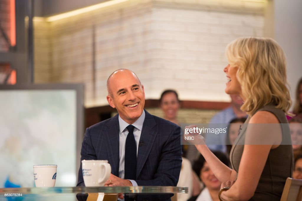 "NBC's ""Megyn Kelly TODAY"" with guests Matt Lauer, Scott Kelly, Joanna Kerns"