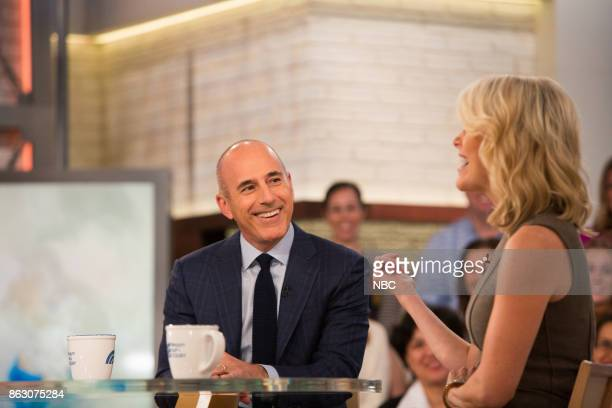 Matt Lauer and Megyn Kelly on Monday October 16 2017