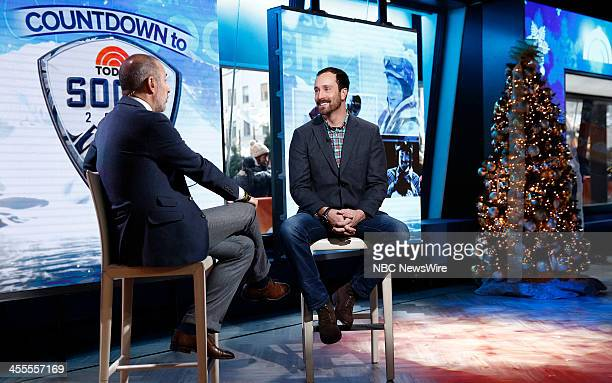 """Matt Lauer and Seth Wescott appear on NBC News' """"Today"""" show --"""