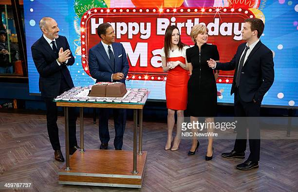 Matt Lauer Bryant Gumbel Ricky Trudeau Jane Pauley and Ross Pauley appear on NBC News' Today show